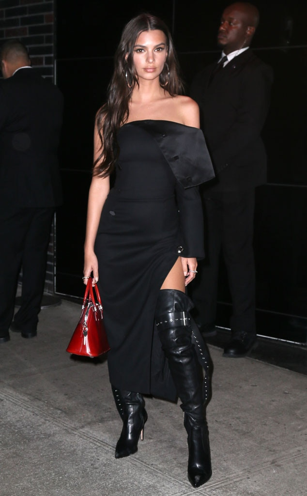 Emily Ratajkowski, 2017 Met Gala After Party Pics