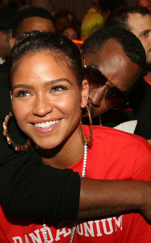 Cassie, Sean Combs, The Rihanna Gala After Party