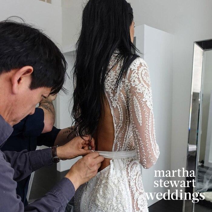 Nicole Williams, Wedding Dress