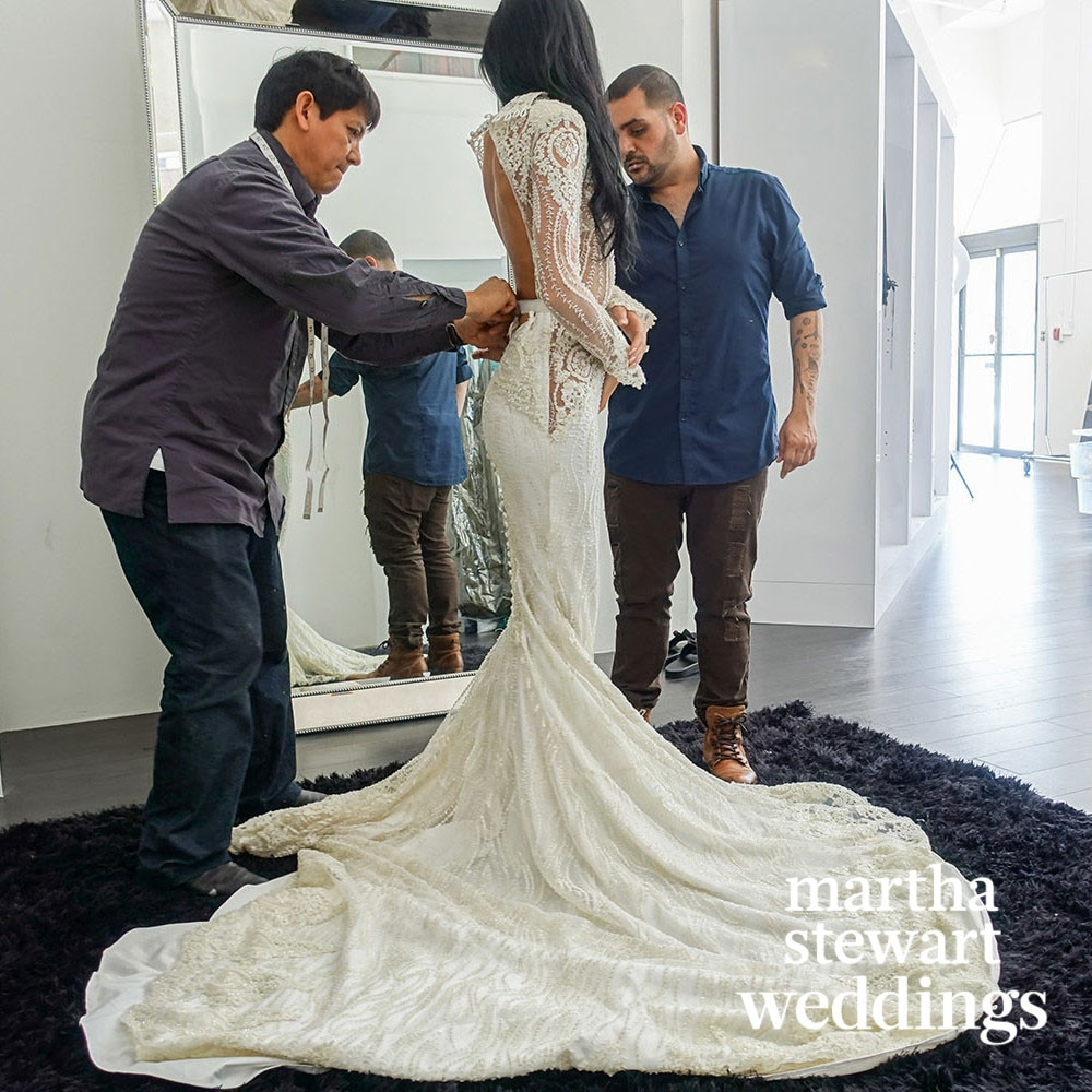 Nicole Williams, Wedding Dress