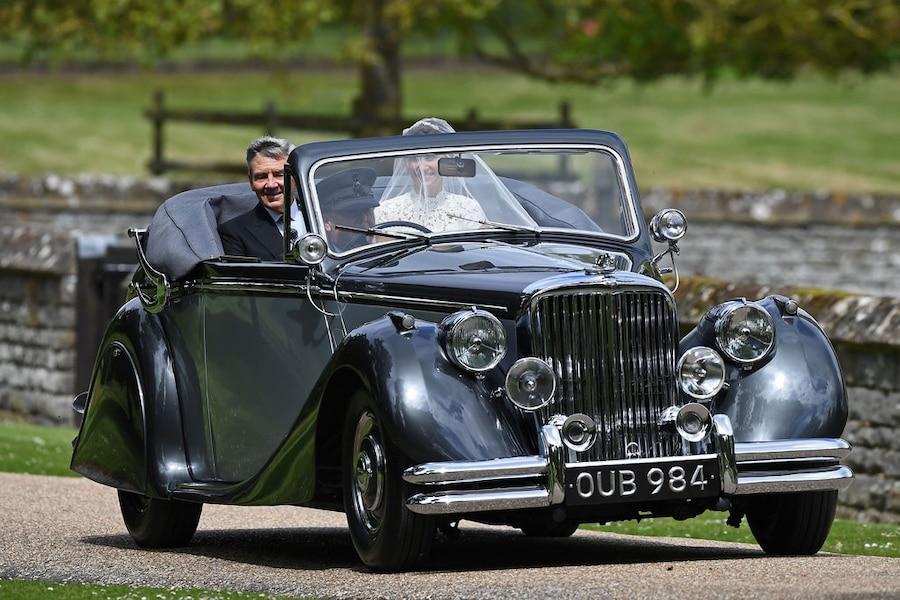 Pippa Middleton, Michael Middleton, Pippa Middleton and James Matthews Wedding