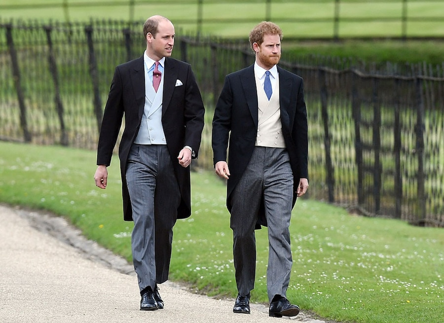 Prince William, Prince Harry, Pippa Middleton and James Matthews Wedding