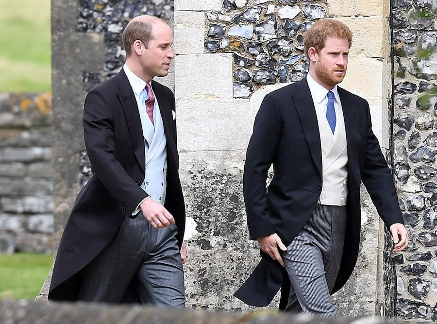 Prince William, Prince Harry, Pippa Middleton and James Matthews Wedding