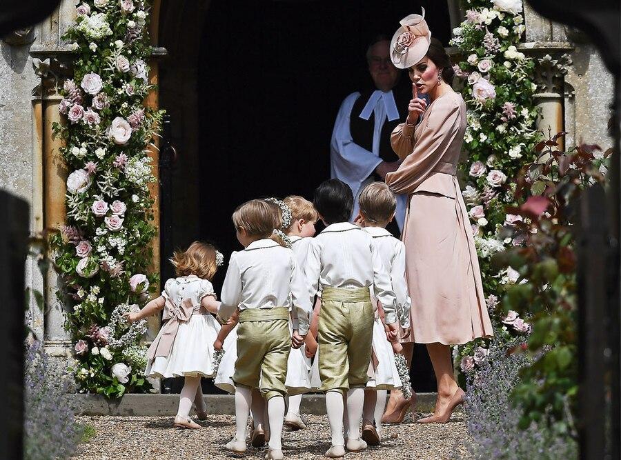 Kate Middleton, Pippa Middleton and James Matthews Wedding