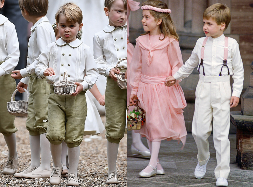 Prince George Was An Adorable Page Boy Just Like Dad