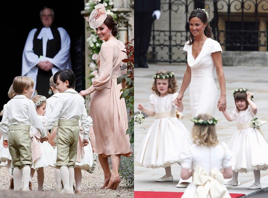Kate Middleton, Pippa Middleton, Wedding Comparison