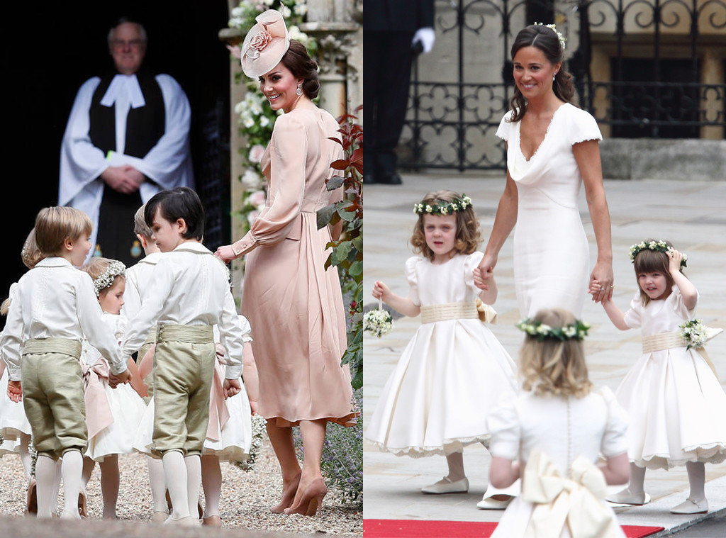 Kate Middleton, Pippa Middleton, Wedding Comparison