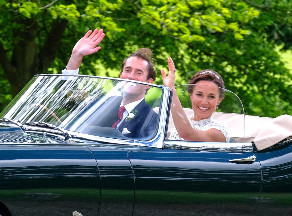 Pippa Middleton marries as British royals look on
