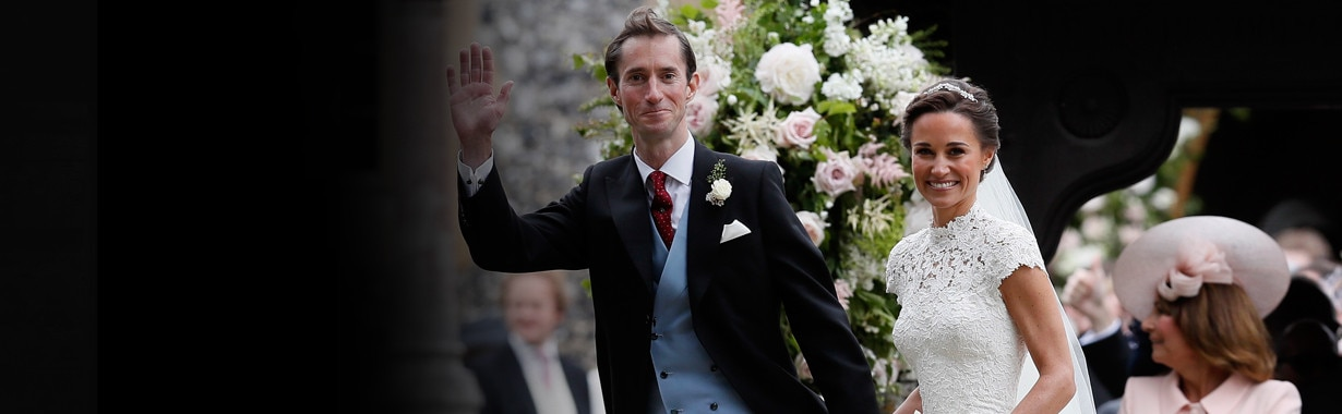 Large Teaser, Pippa Middleton and James Matthews Wedding