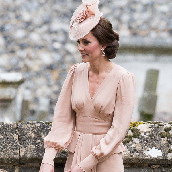 Wedding Hairstyle Kate Middleton : Heres what kate middleton wore to sister pippa middletons