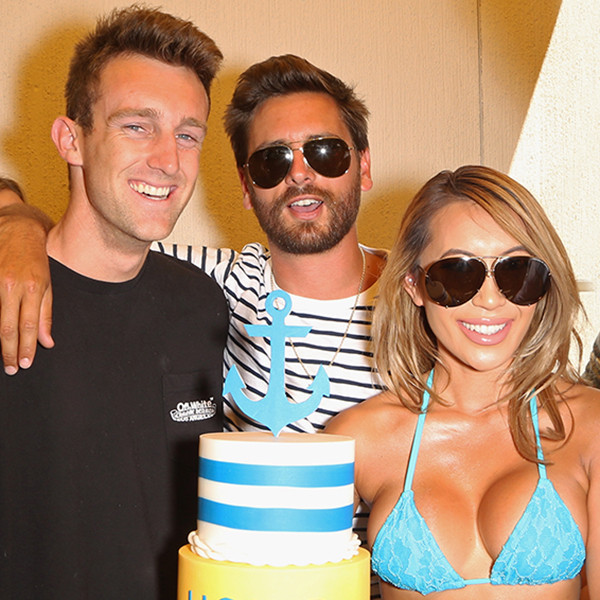 Scott Disick, Cooper Mount, Conner Treacy, Birthday Party, Liquid Lounge