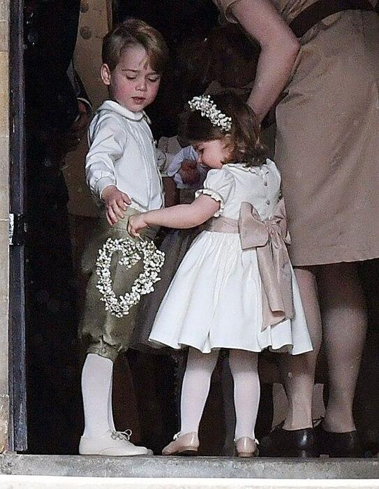 Prince George, Princess Charlotte, Pippa Middleton and James Matthews Wedding