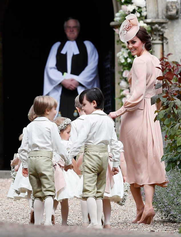Duchess Of Cambridge Kate Middleton From Pippa Middletons Wedding Arrivals