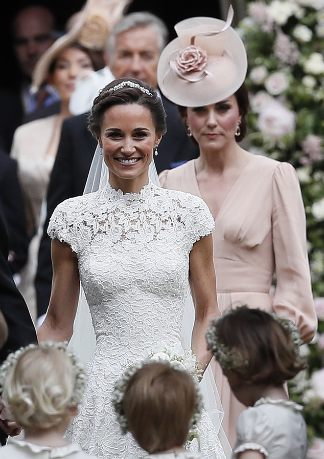 Kate Middleton, Pippa Middleton and James Matthews Wedding