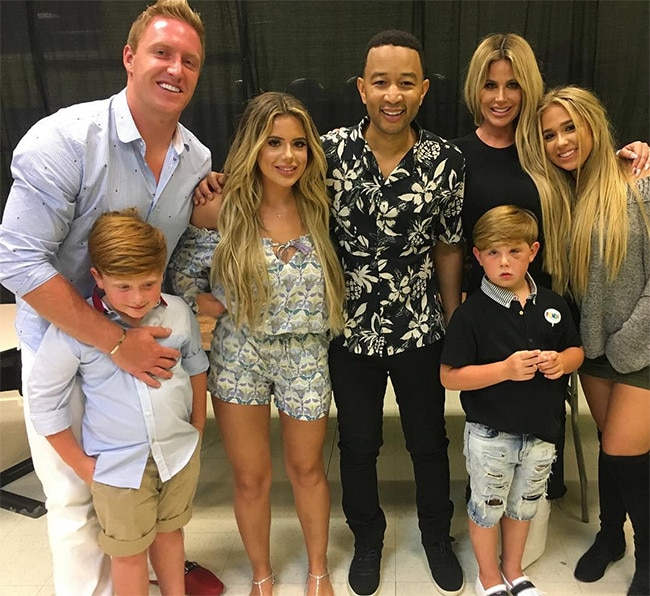 Kim Zolciak-Biermann, John Legend, Family