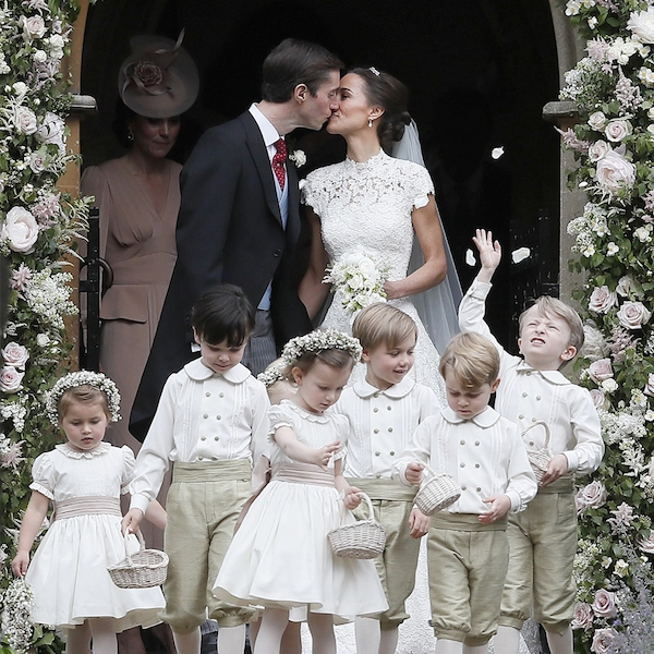At The Royal Wedding Pippa Middleton S Dress: Pippa Middleton, James Matthews And Prince George From