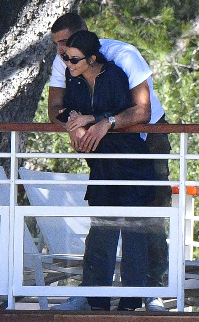 Kourtney Kardashian, Younes Bendjima, PDA, Cannes