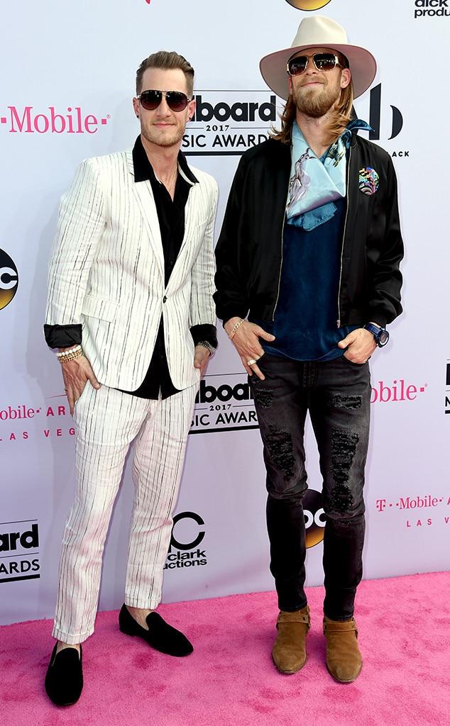 Brian Kelley, Tyler Hubbard, Florida Georgia Line, 2017 Billboard Music Awards, Arrivals