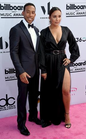 Ludacris, Eudoxie Mbouguiengue, 2017 Billboard Music Awards, Arrivals