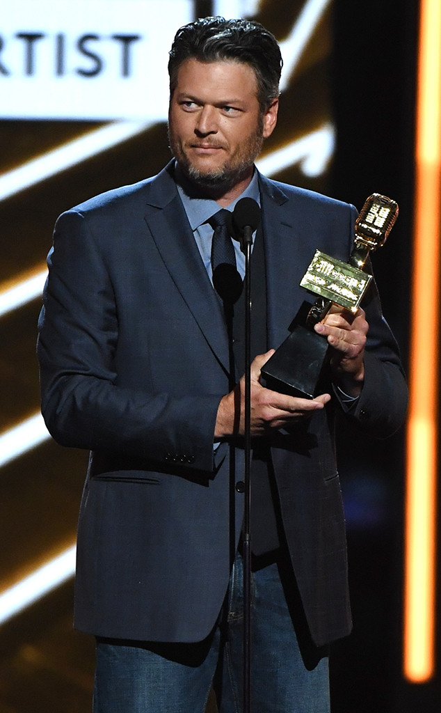 Blake Shelton, 2017 Billboard Music Awards, Winner