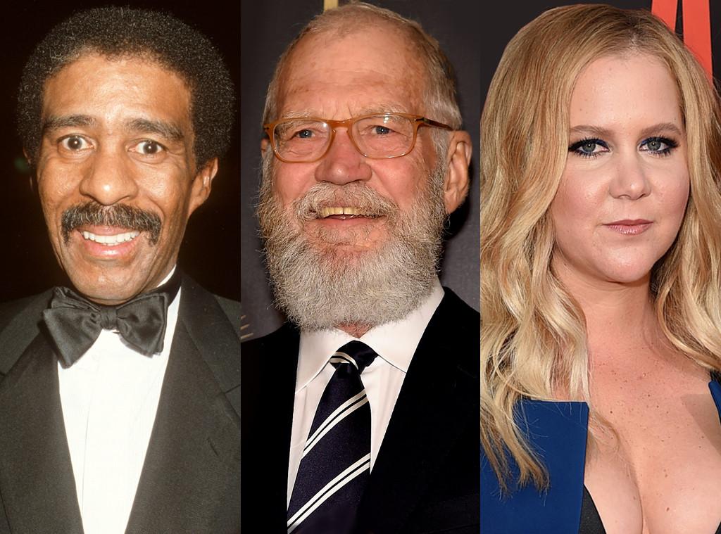 Richard Pryor, David Letterman, Amy Schumer