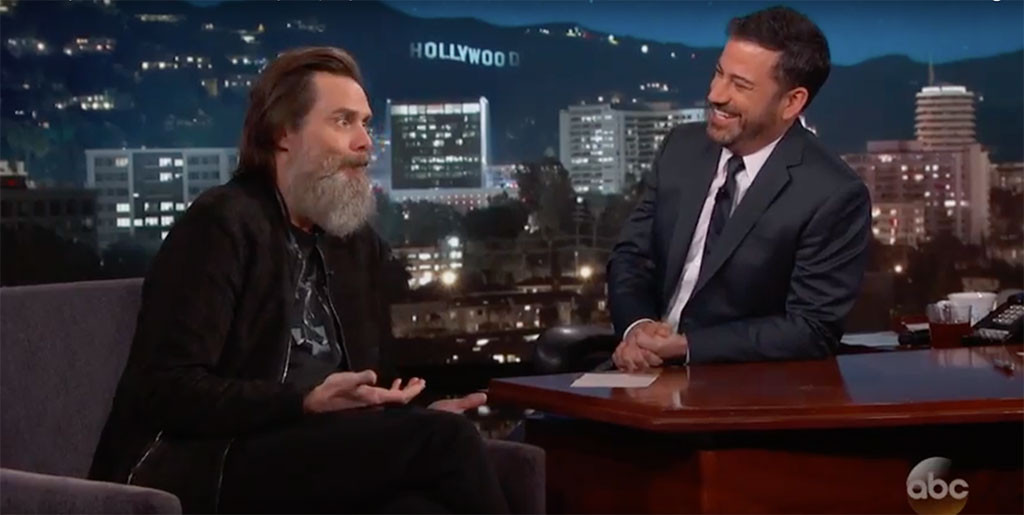 Jim Carrey, Jimmy Kimmel Live