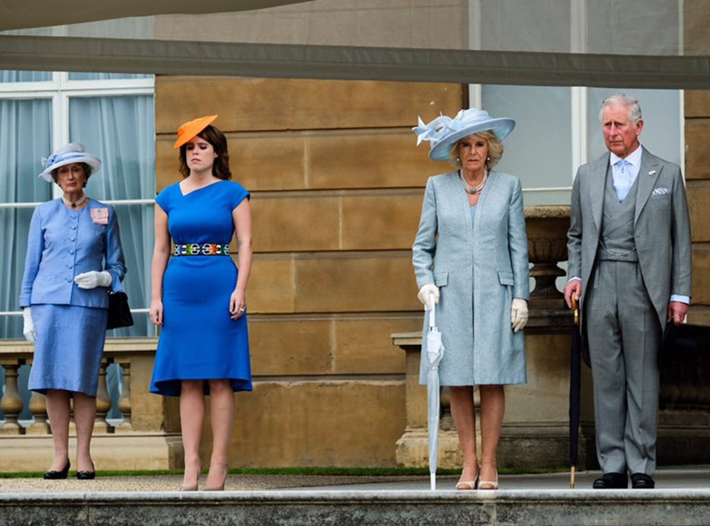 Princess Eugenie, Prince Charles, Camilla Parker Bowles
