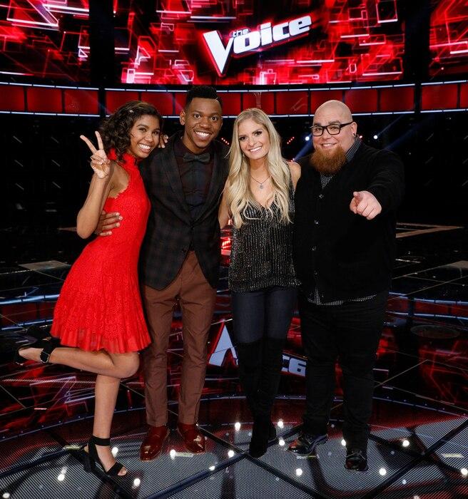 The Voice, Aliyah Moulden, Chris Blue, Lauren Duski, Jesse Larson