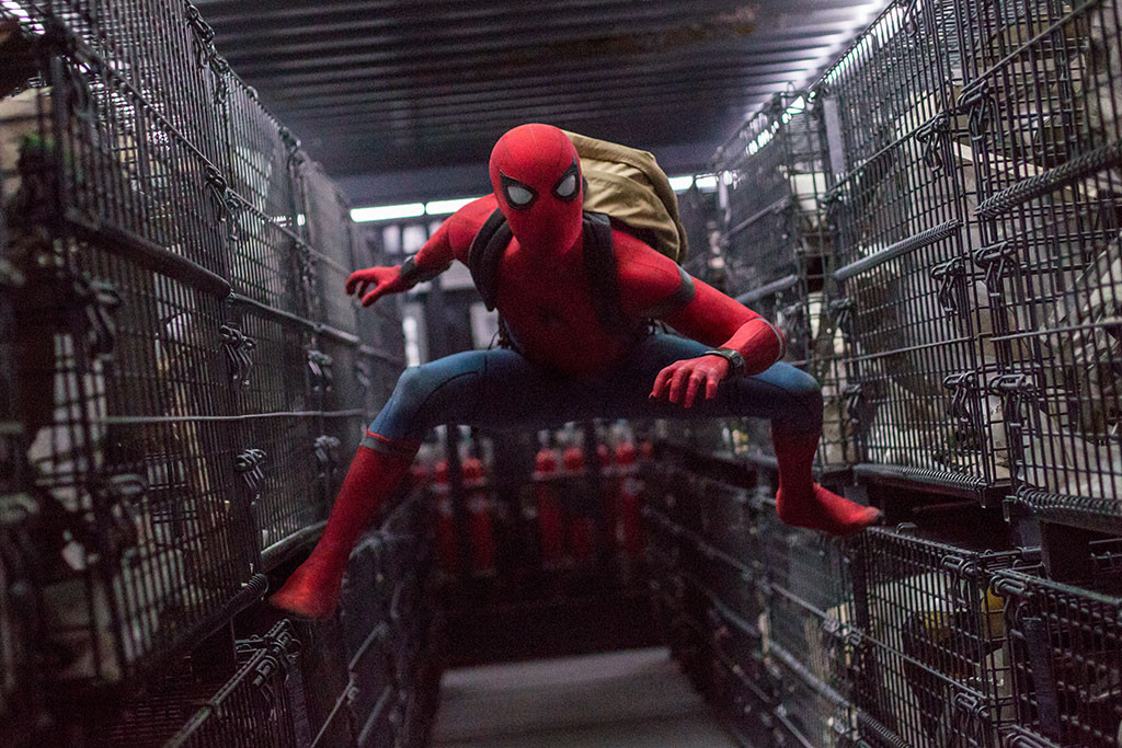 Spider-Man: Homecoming, Tom Holland