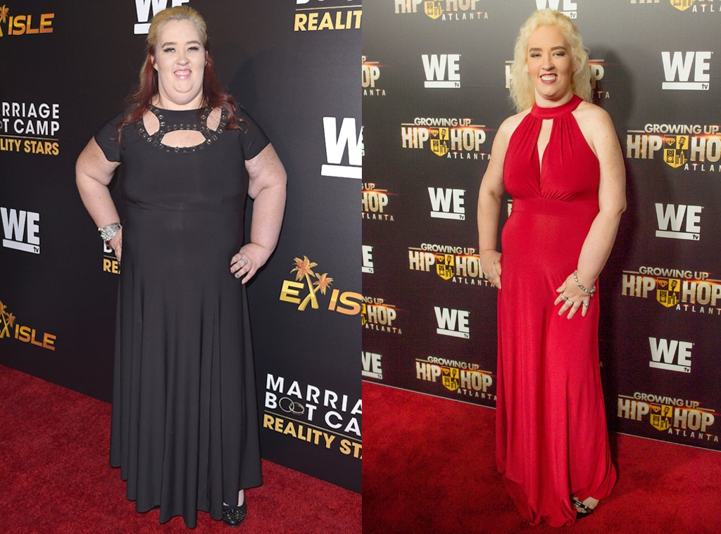 Mama June Displays 300-Pound Weight Loss In Sexy Skintight Dress