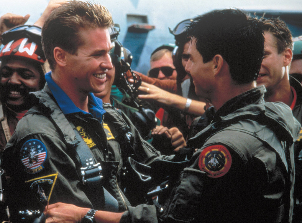 Val Kilmer, Tom Cruise, Top Gun