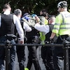 Buckingham Palace, Man with Knife, Arrest