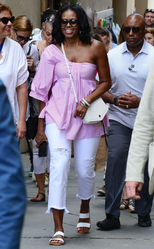 Michelle Obama, Italy