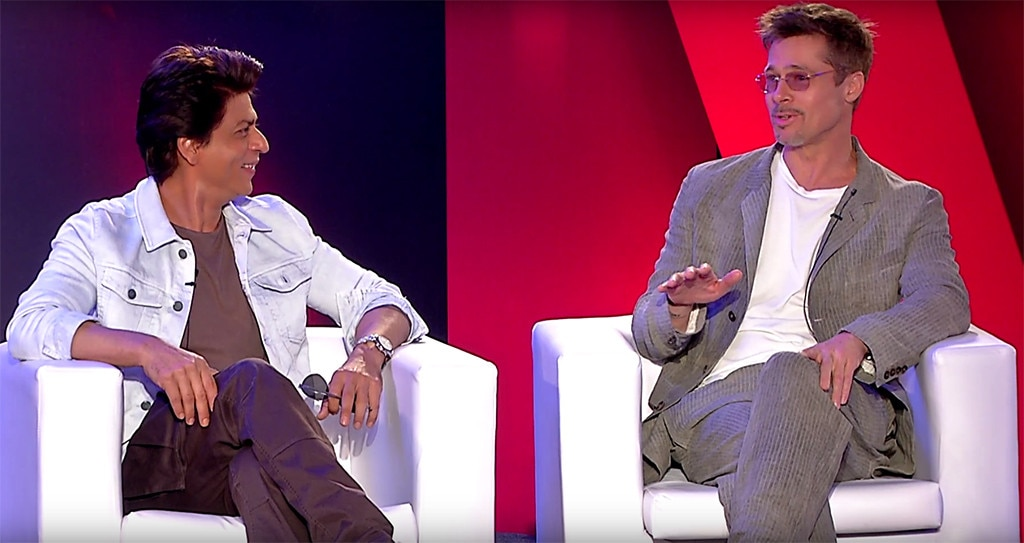 "Brad Pitt To Shah Rukh Khan: ""I Would Never Make It In Bollywood"""