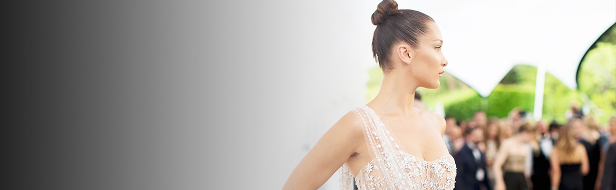 Bella Hadid, amfAR, Large Teaser
