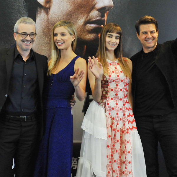 Tom Cruise, Alex Kurtzman, Annabelle Wallis, Sofia Boutella