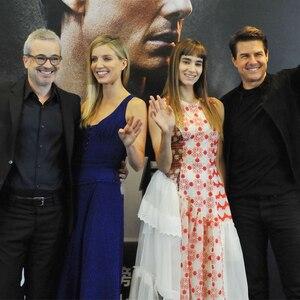 Tom Cruise, Alex Kurtzman, Annabelle Wallis, Sofia Boutella