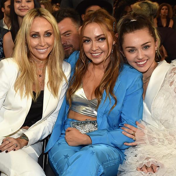 Tish Cyrus, Brandi Cyrus, Miley Cyrus