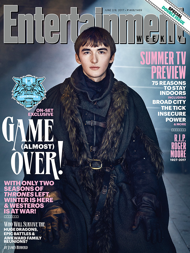 Isaac Hempstead Wright, EW, Cover
