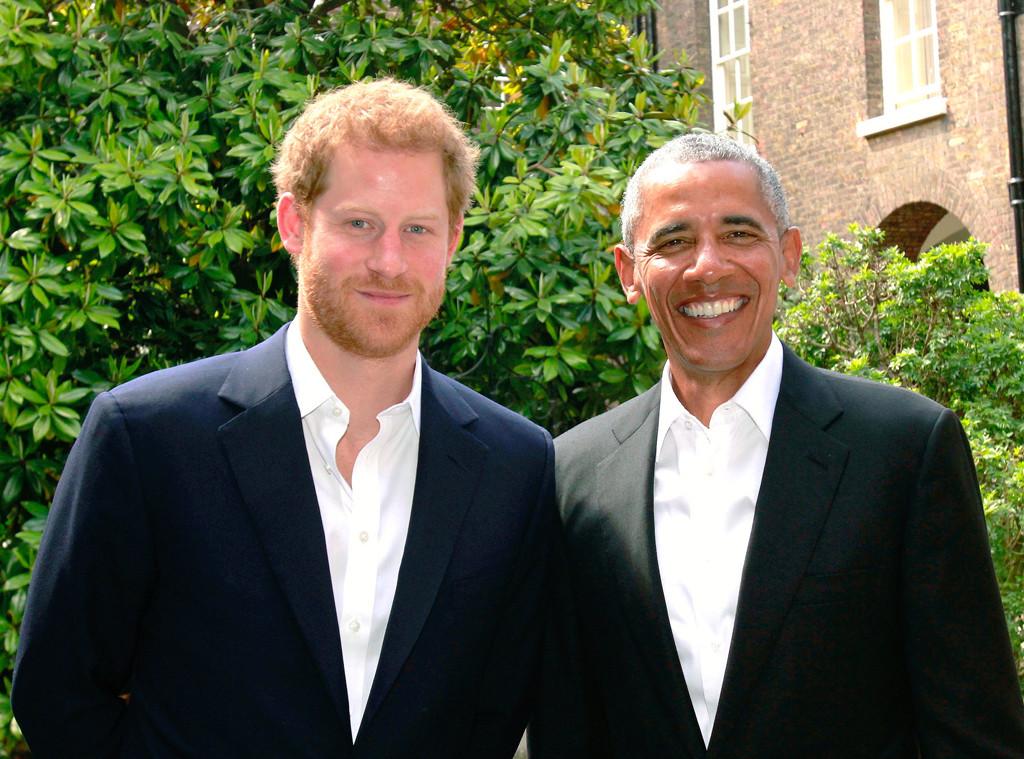 Barack Obama, Prince Harry