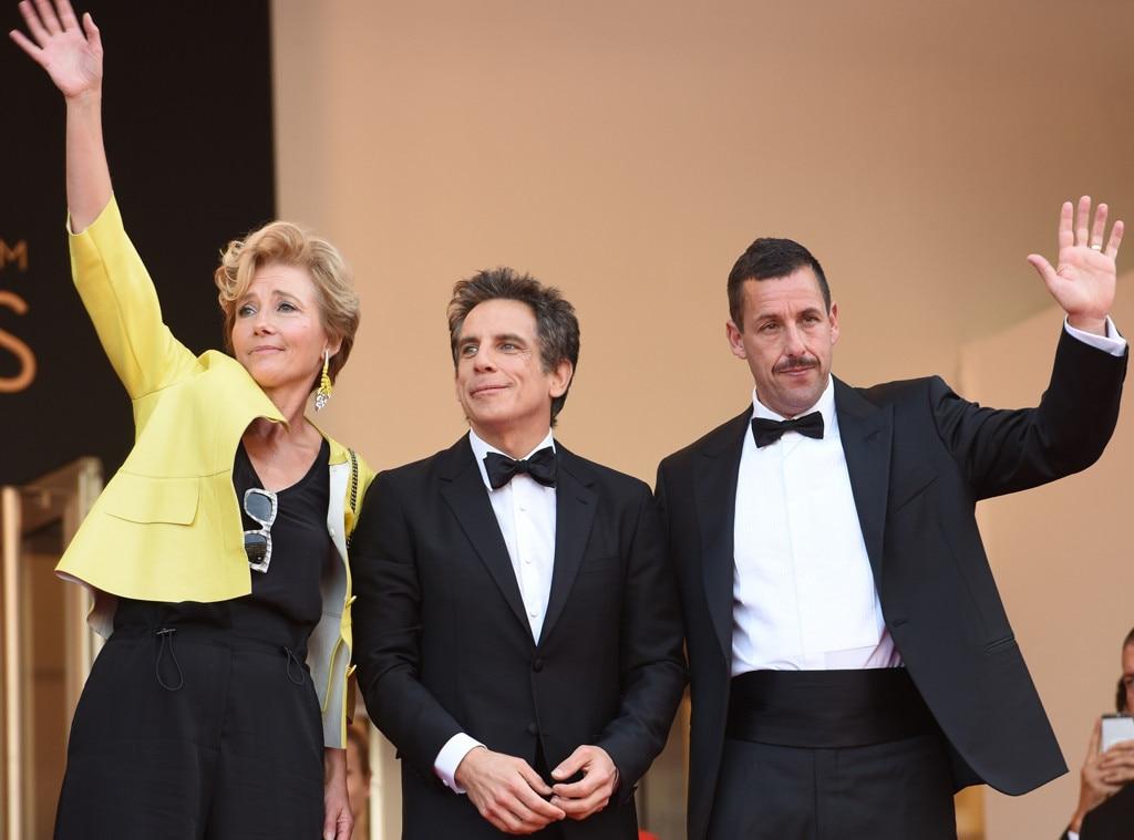 Emma Thompson, Ben Stiller, Adam Sandler, Cannes