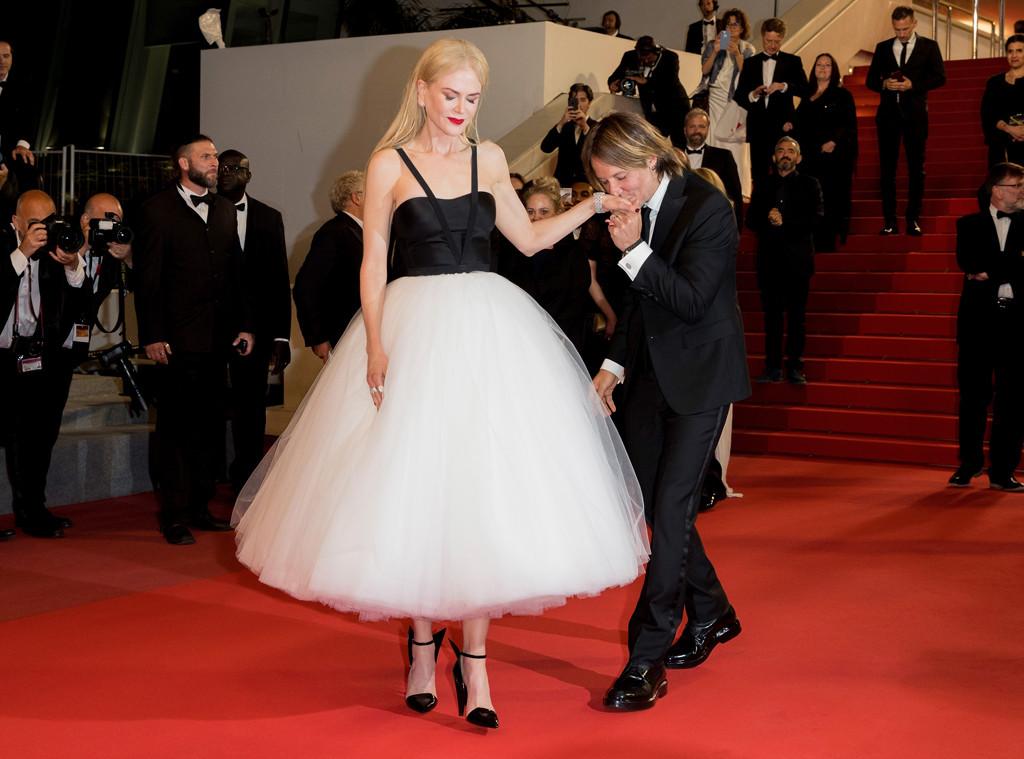 Keith Urban, Nicole Kidman, Cannes, PDA