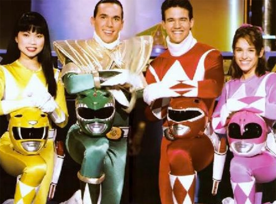 Jason David Frank, Might Morphin Power Rangers