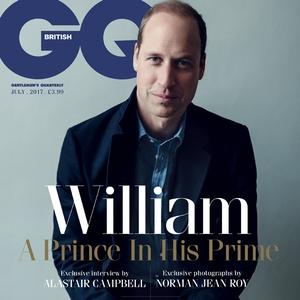 Prince William, British GQ