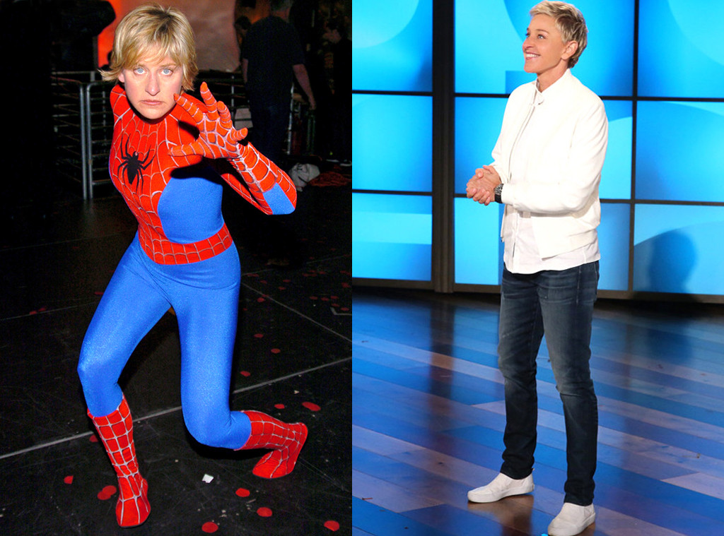 MTV Movie Nominees Then and Now, Ellen Degeneres