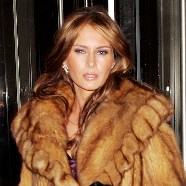 Melania Trump, Fur