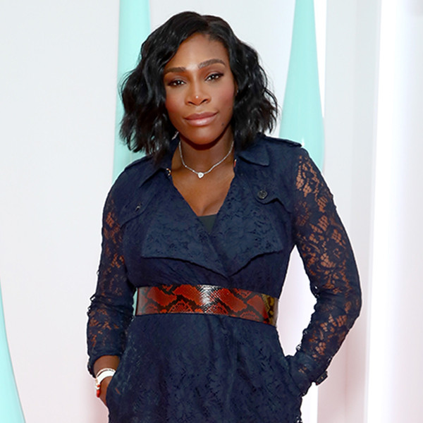 Serena Williams, Burberry Launch