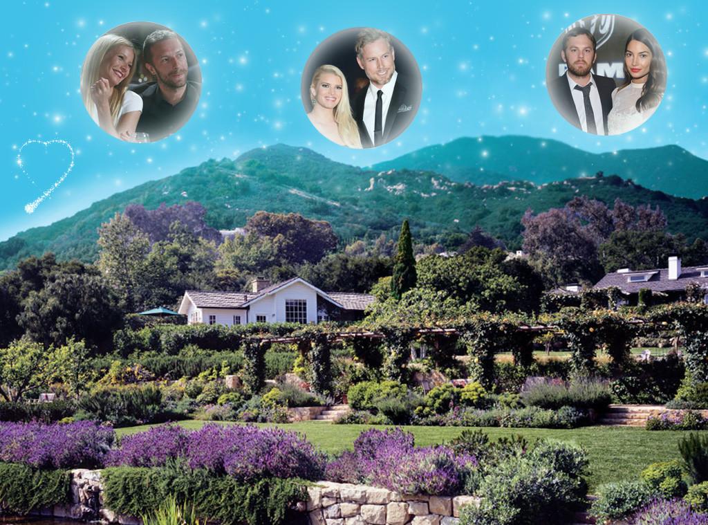 Wedding Venues, San Ysidro Ranch, Santa Barbara
