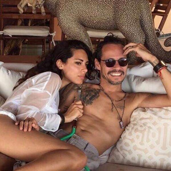 Marc Anthony Gets Playful With Girlfriend Raffaella Modugno