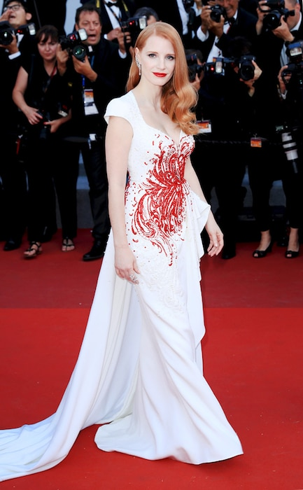 ESC: Cannes Best Dresses, Jessica Chastain